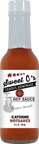 bbq sauce label template - hs5c cayenne hot sauce 5oz real estate sweet c 39 s